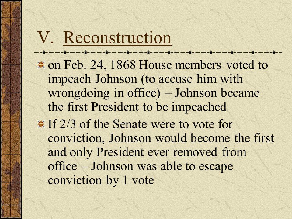 V.Reconstruction on Feb.