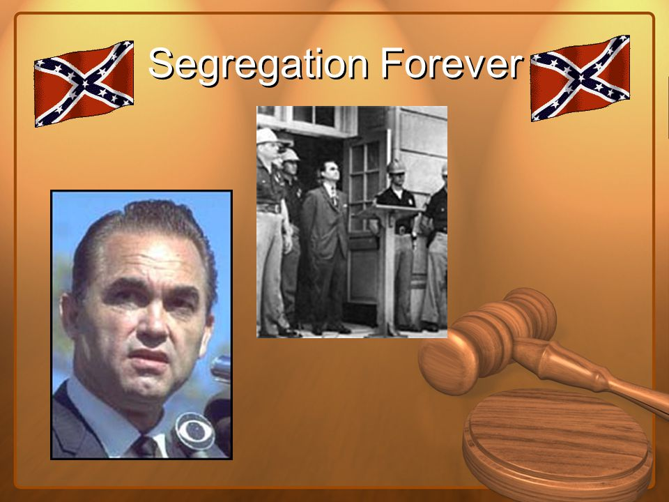 Segregation Forever
