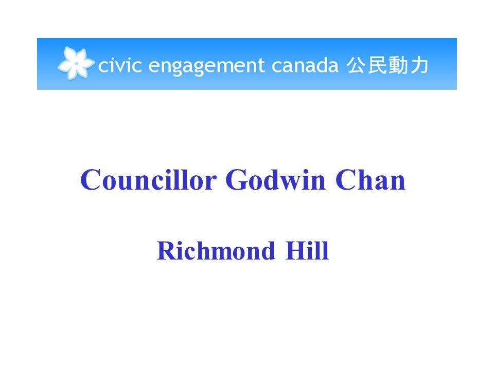 Councillor Godwin Chan Richmond Hill