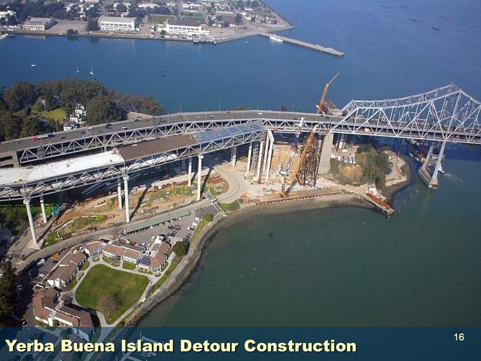 Yerba Buena Island Detour Construction 16