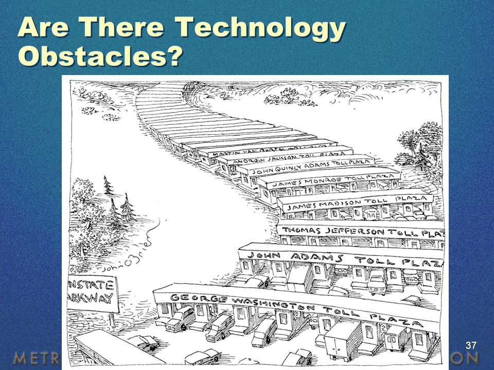 Are There Technology Obstacles © 2006 John O'Brien from cartoonbank.com. All Rights Reserved. 37