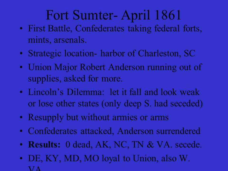 April 1865- Appomattox Conciliatory tone (quotations, p.