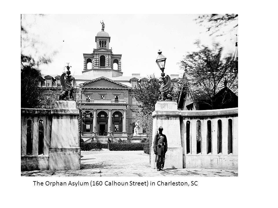 The Orphan Asylum (160 Calhoun Street) in Charleston, SC