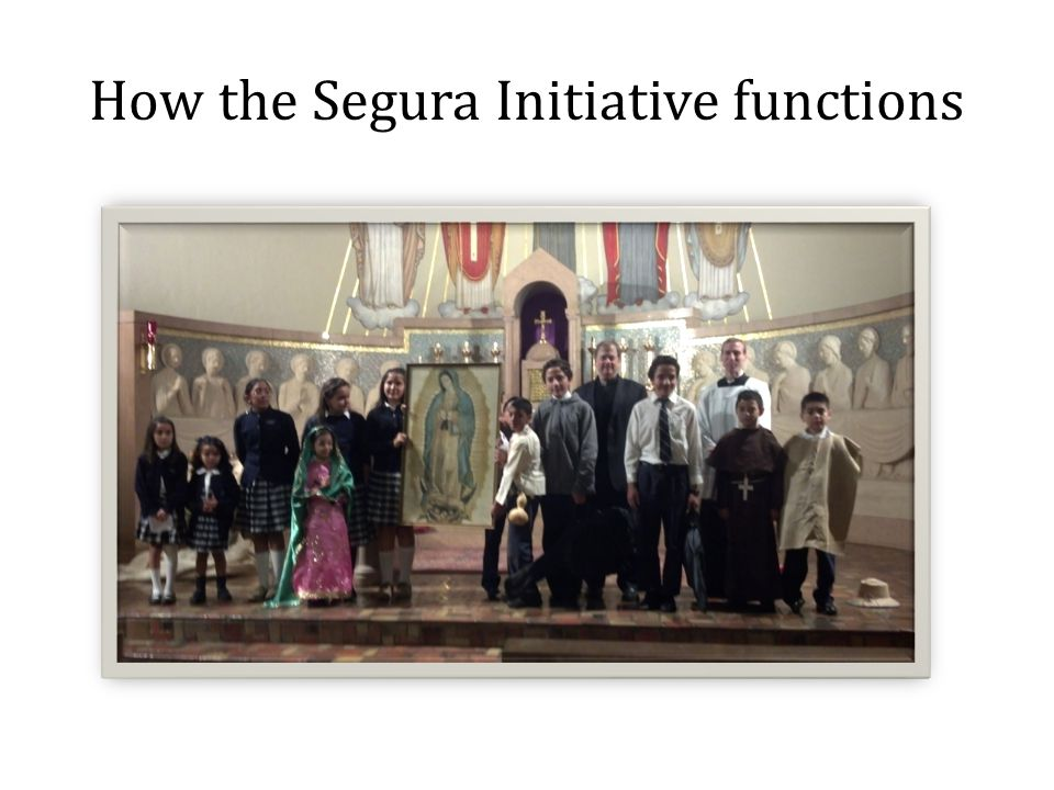 How the Segura Initiative functions