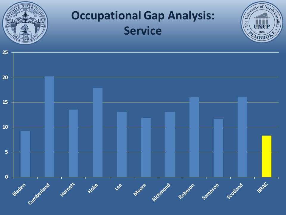 Occupational Gap Analysis: Sales and Retail