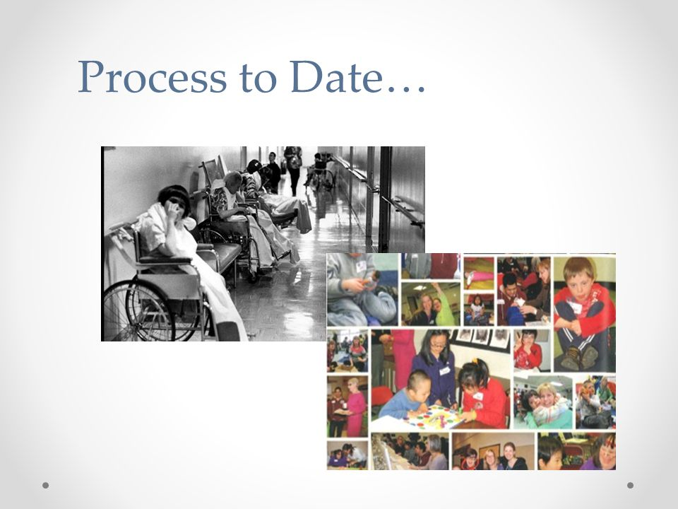 Process to Date…