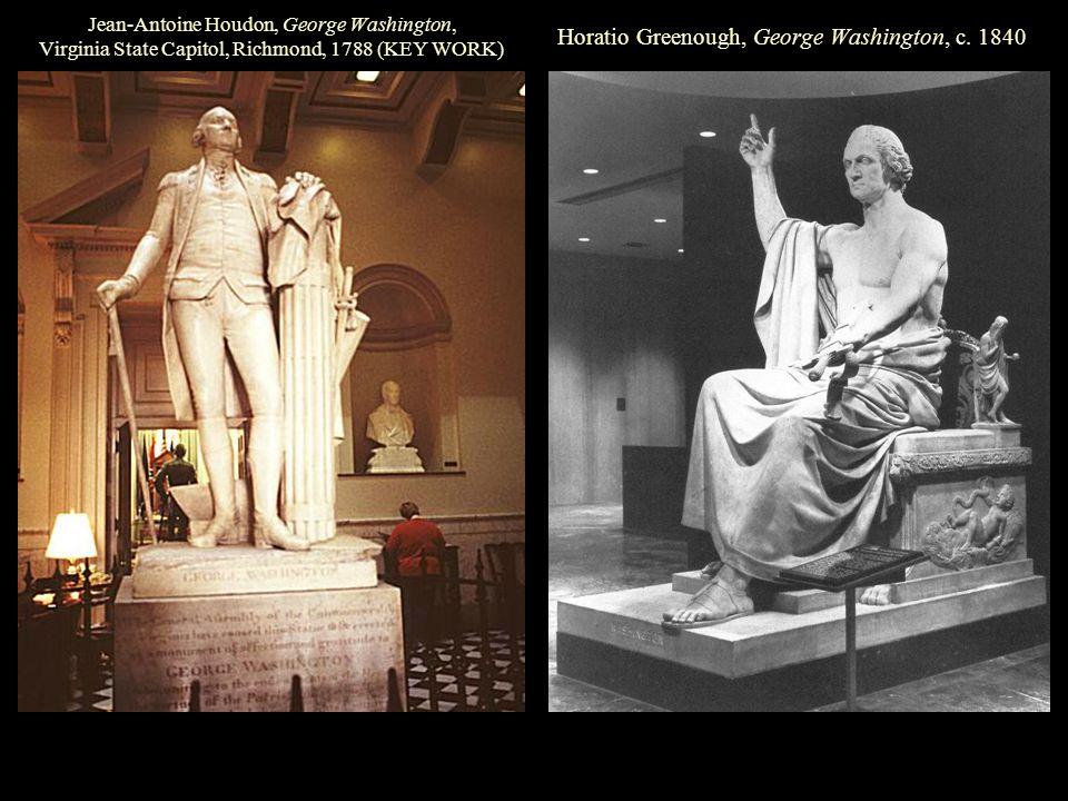 Horatio Greenough, George Washington, c.
