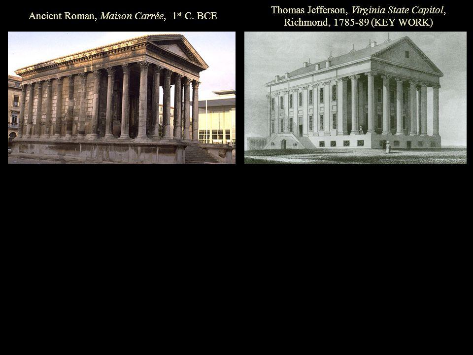 Ancient Roman, Maison Carrée, 1 st C.