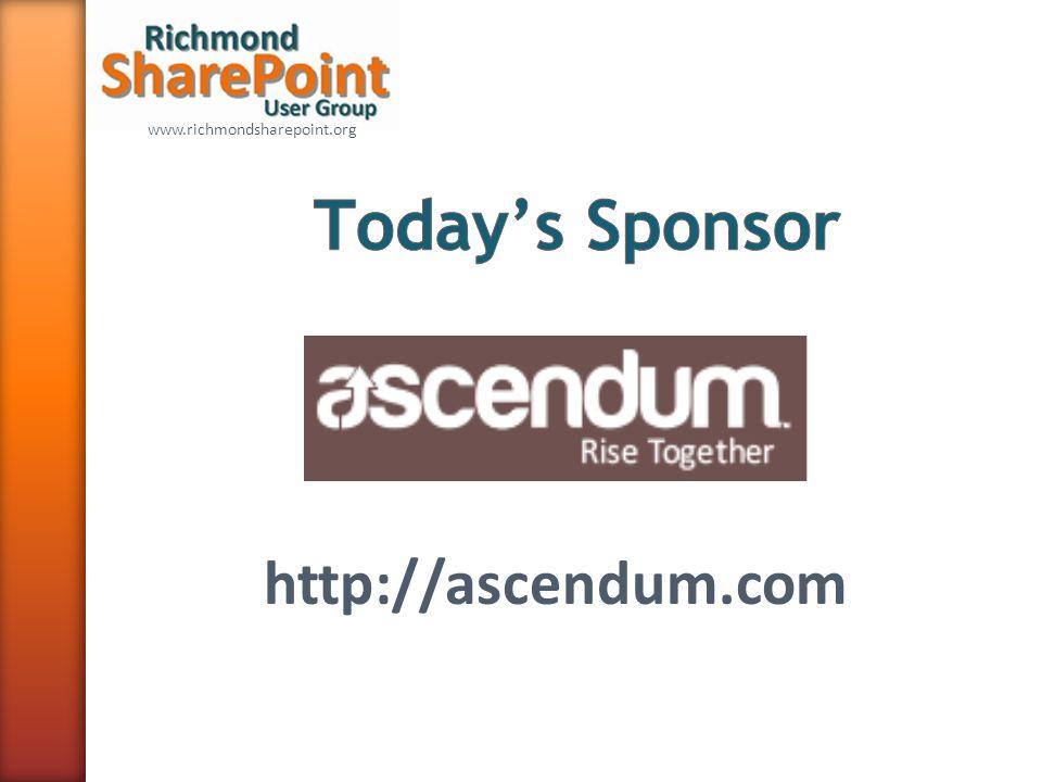 www.richmondsharepoint.org http://ascendum.com