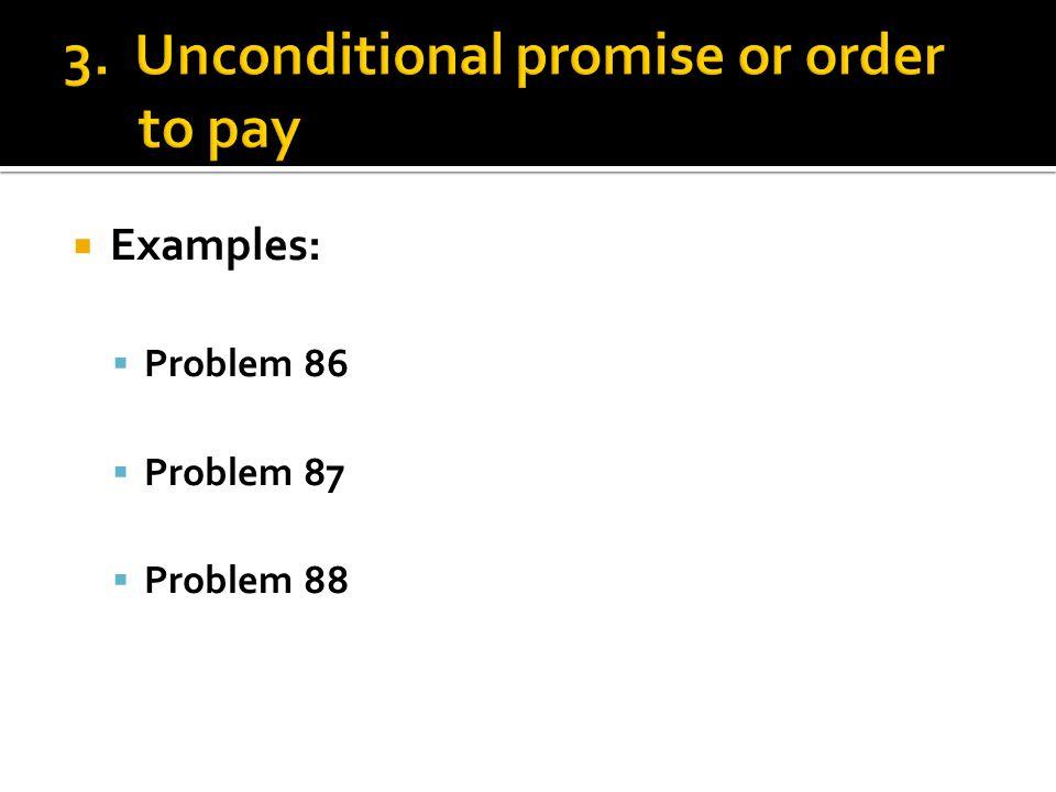  Examples:  Problem 86  Problem 87  Problem 88