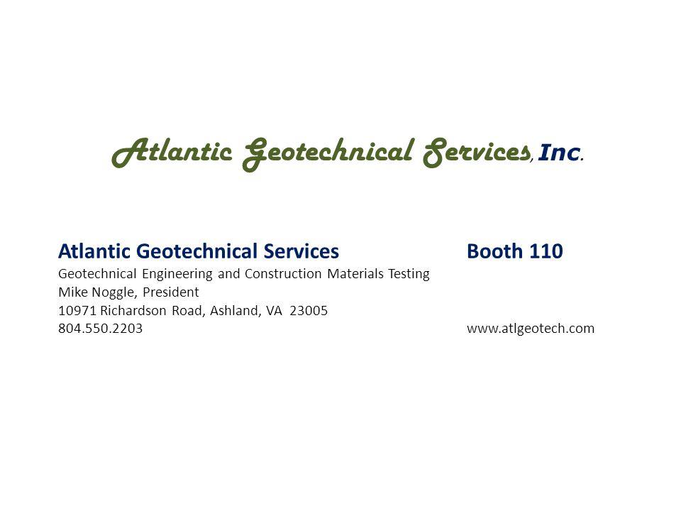 Howard Shockey & Sons, Inc.Booth 702 General contractor/Design-Builder/Construction Manager Karen Butler, Marketing Coordinator P.O.