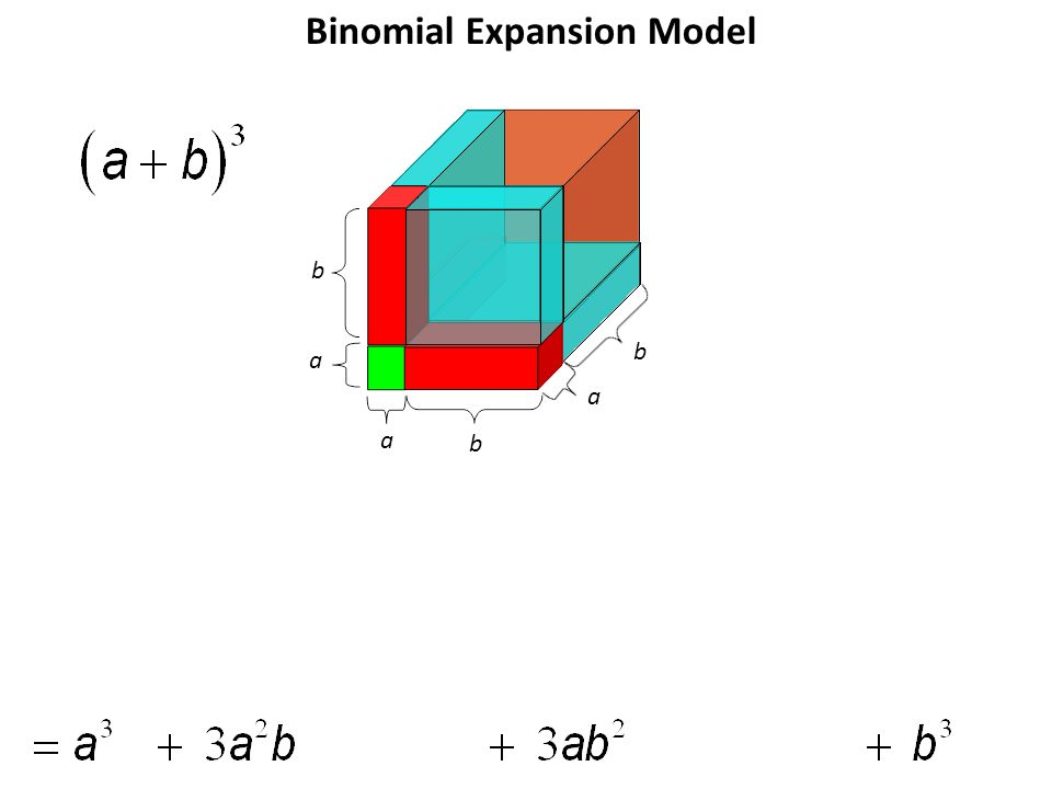 b a a b a b Binomial Expansion Model