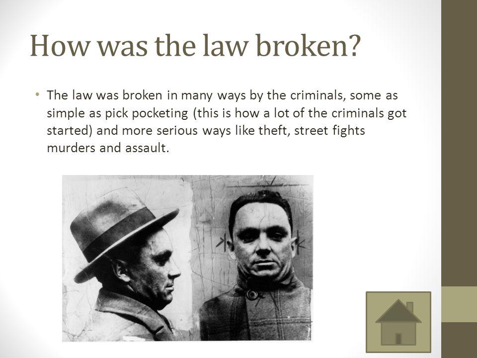 How was the law broken.