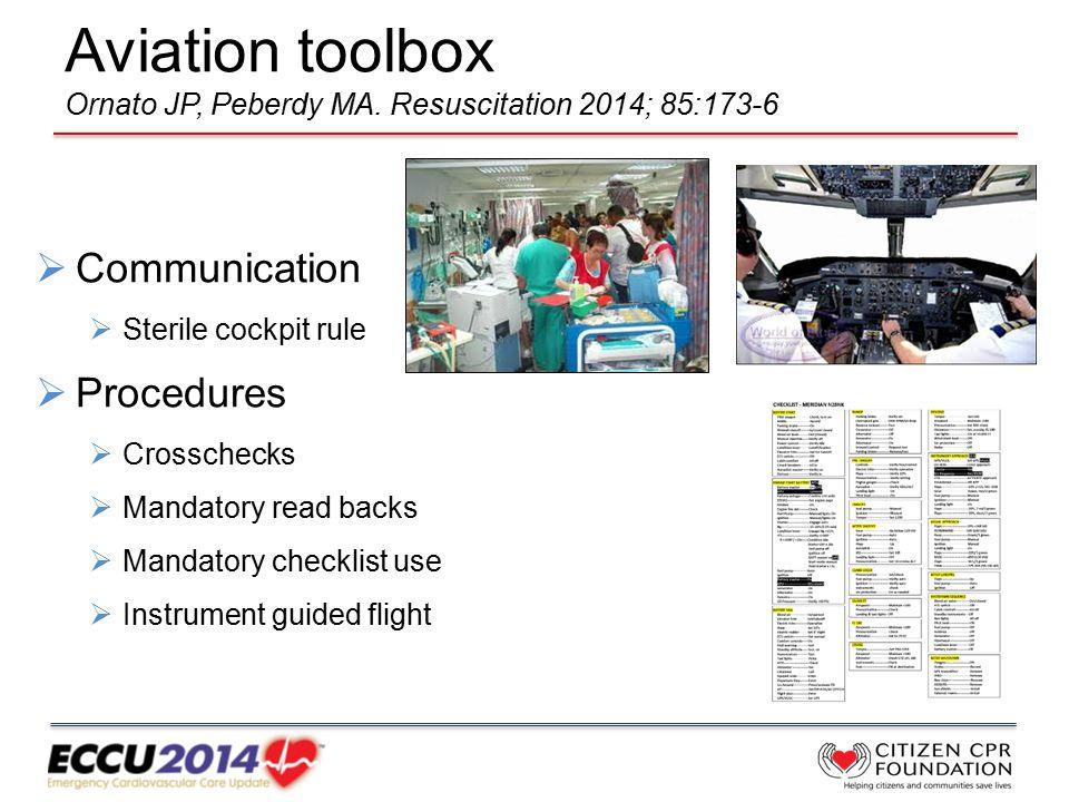 Aviation toolbox Ornato JP, Peberdy MA.
