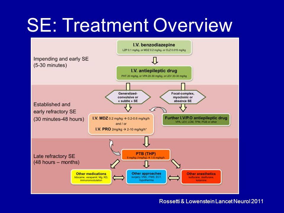 SE: Treatment Overview Rossetti & Lowenstein Lancet Neurol 2011