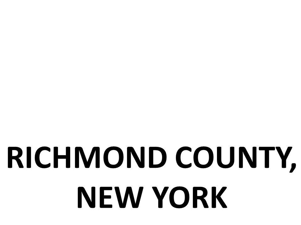 RICHMOND COUNTY, NEW YORK