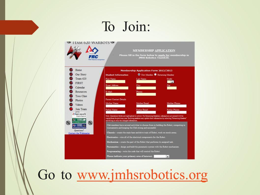 ToToJoin: Gototowww.jmhsrobotics.org