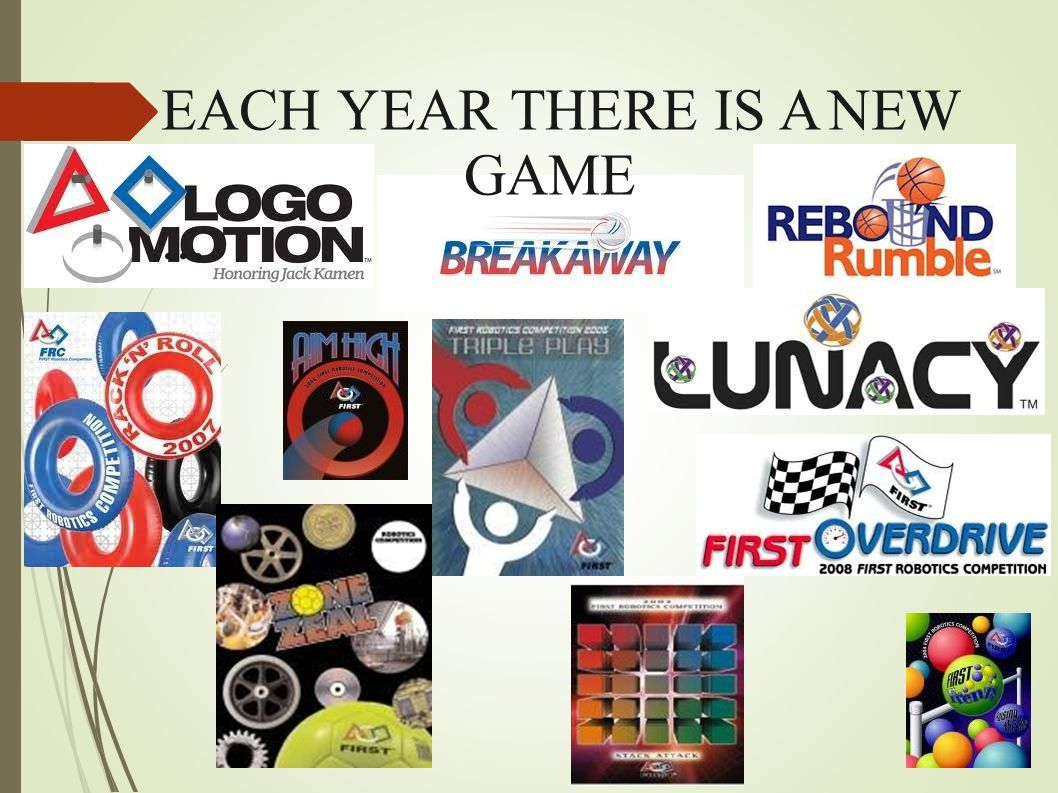 EACH YEAR THERE IS A NEW GAME...