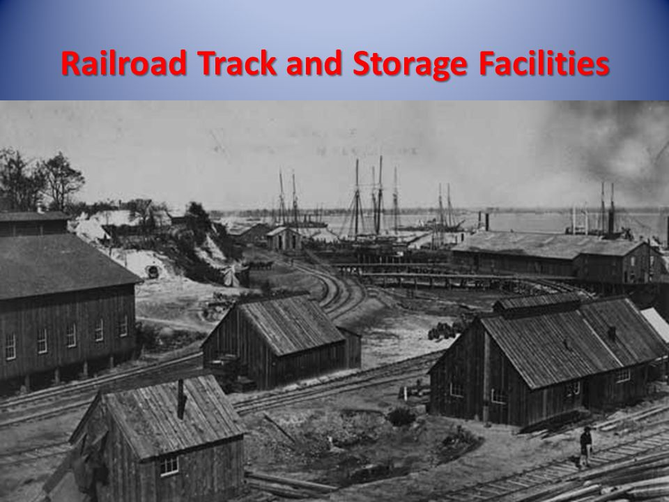 Railroad Track and Storage Facilities