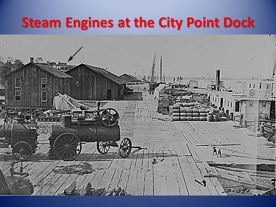 Steam Engines at the City Point Dock