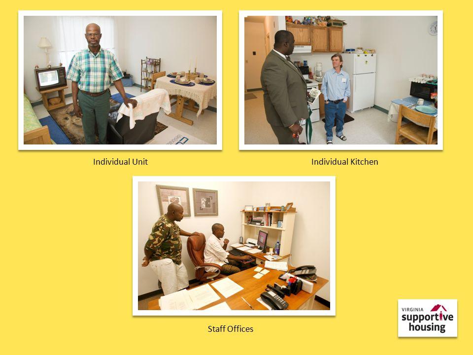 Individual UnitIndividual Kitchen Staff Offices