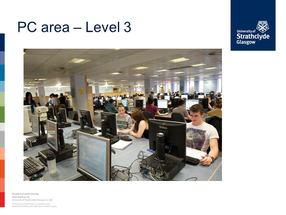 PC area – Level 3