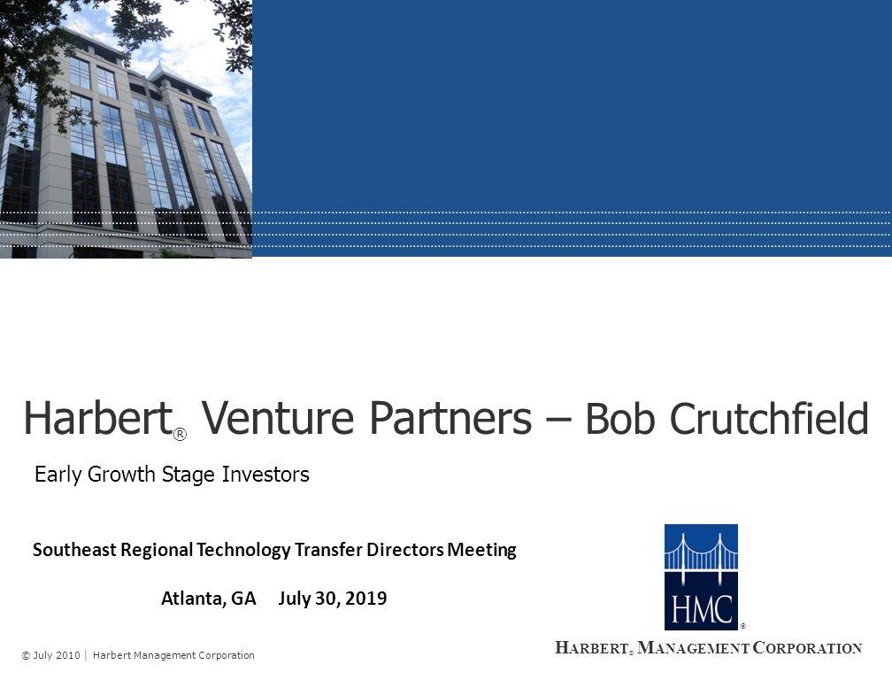 ® Harbert ® Venture Partners II, L.P.