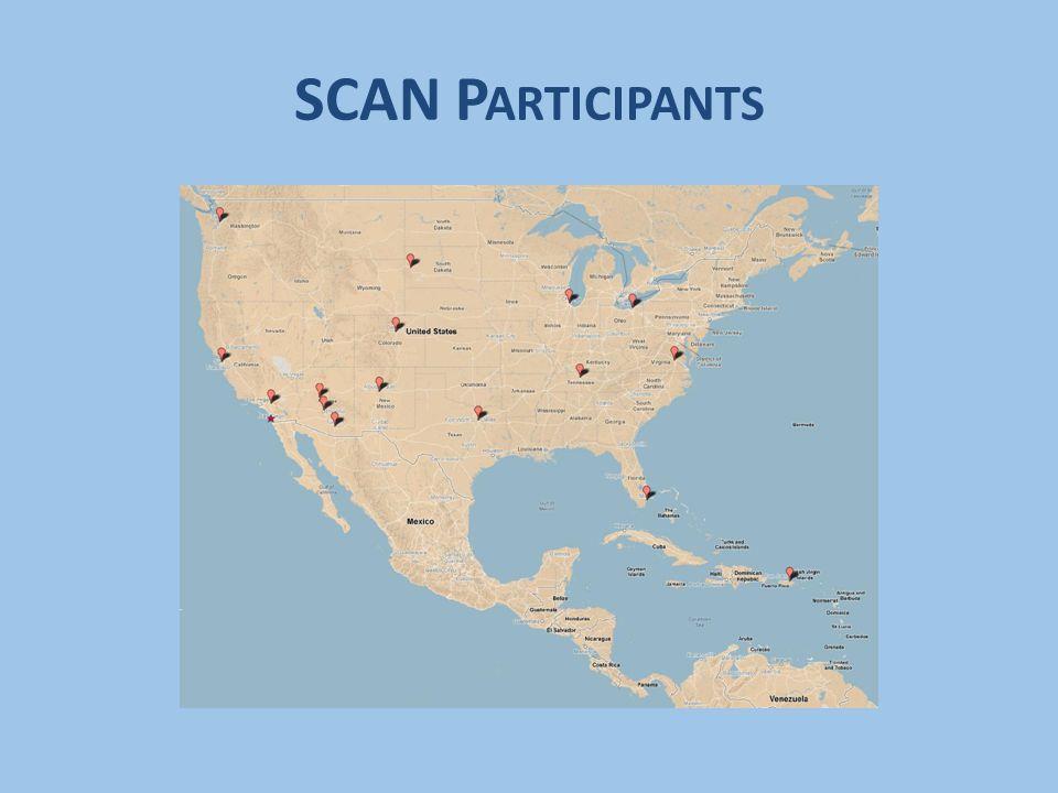 SCAN P ARTICIPANTS