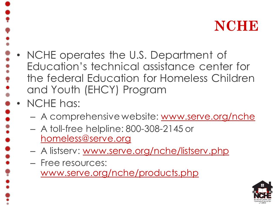 NCHE NCHE operates the U.S.