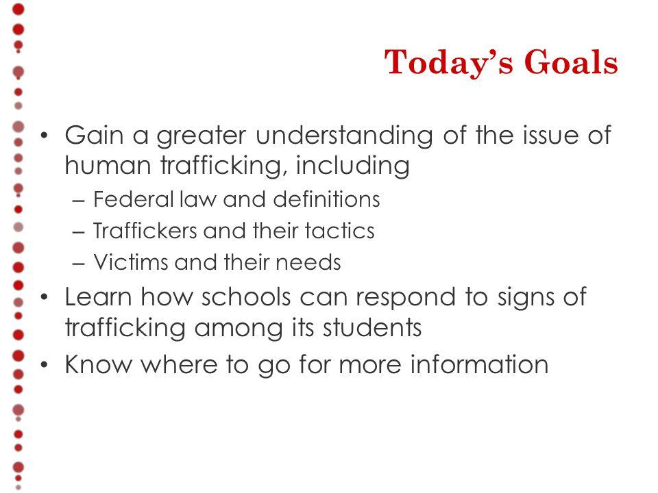 Why Trafficking.