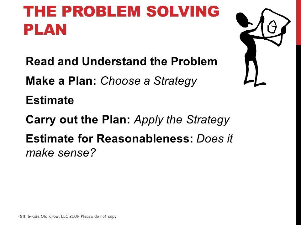 6th grade problem solving