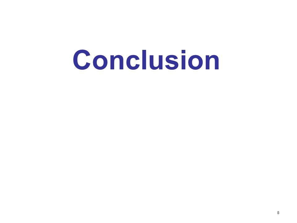 Conclusion 8
