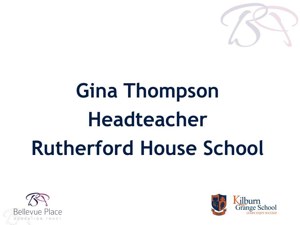 Gina Thompson Headteacher Rutherford House School