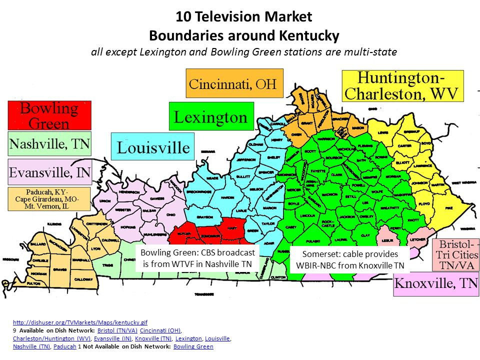 Louisville and Lexington regions ($9 billion) account for 58% of Kentucky total