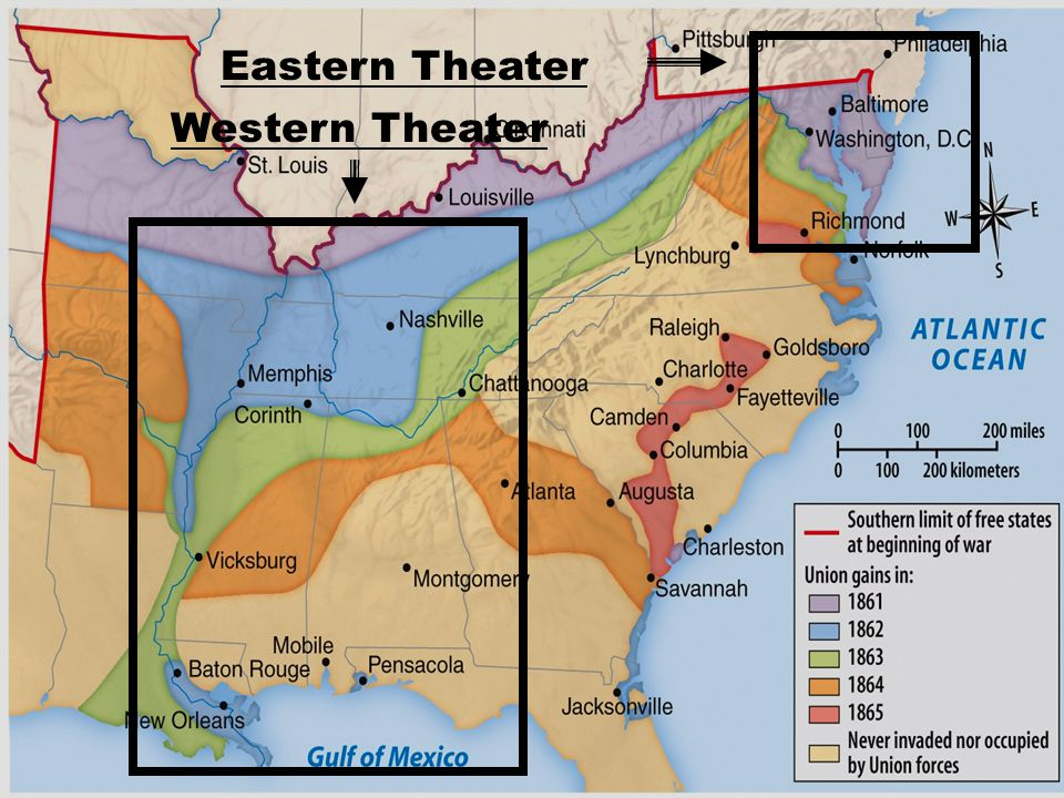Western Theater Eastern Theater