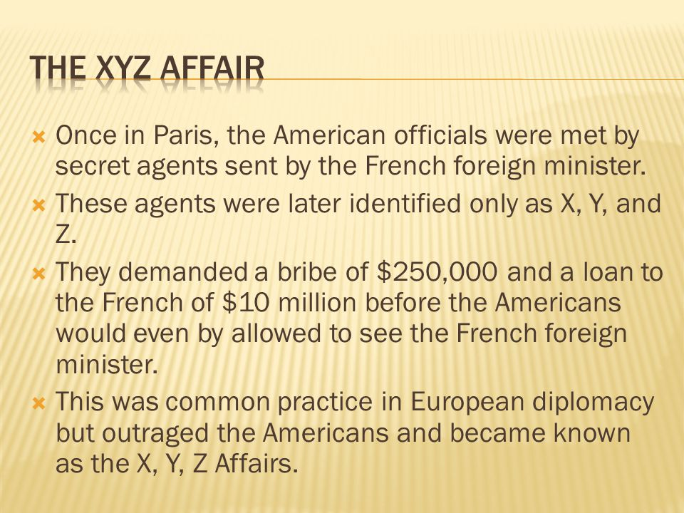  The diplomats refused to pay and returned home.
