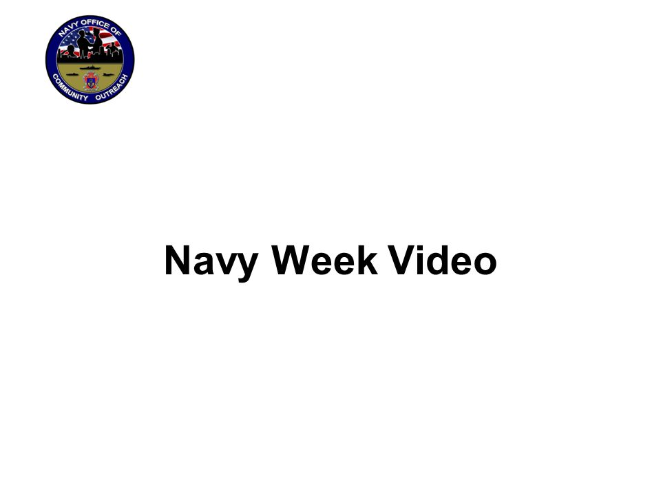Navy Week Video
