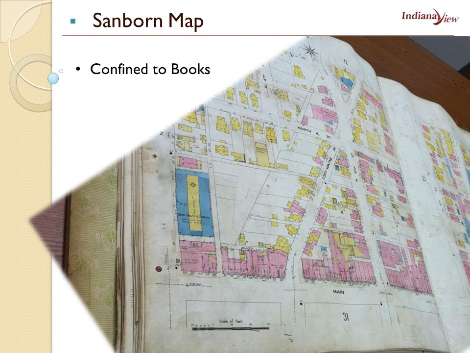 Confined to Books  Sanborn Map