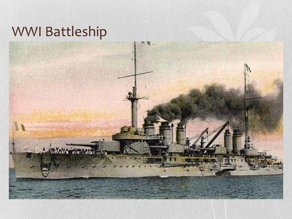 WWI Battleship