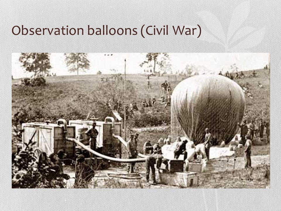 Observation balloons (Civil War)