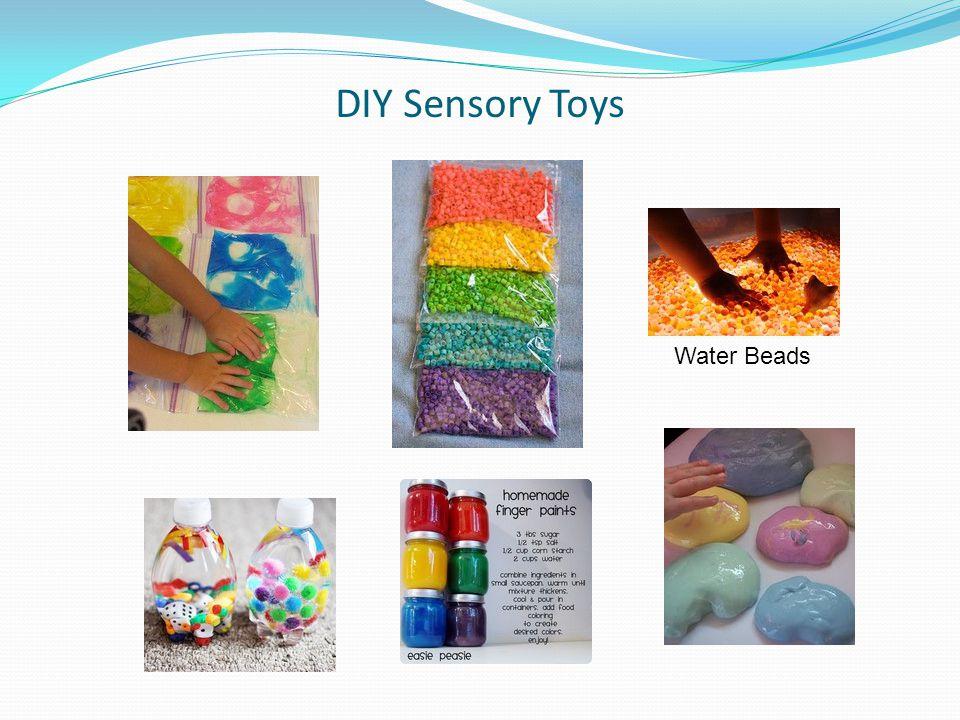 DIY Sensory Toys Water Beads