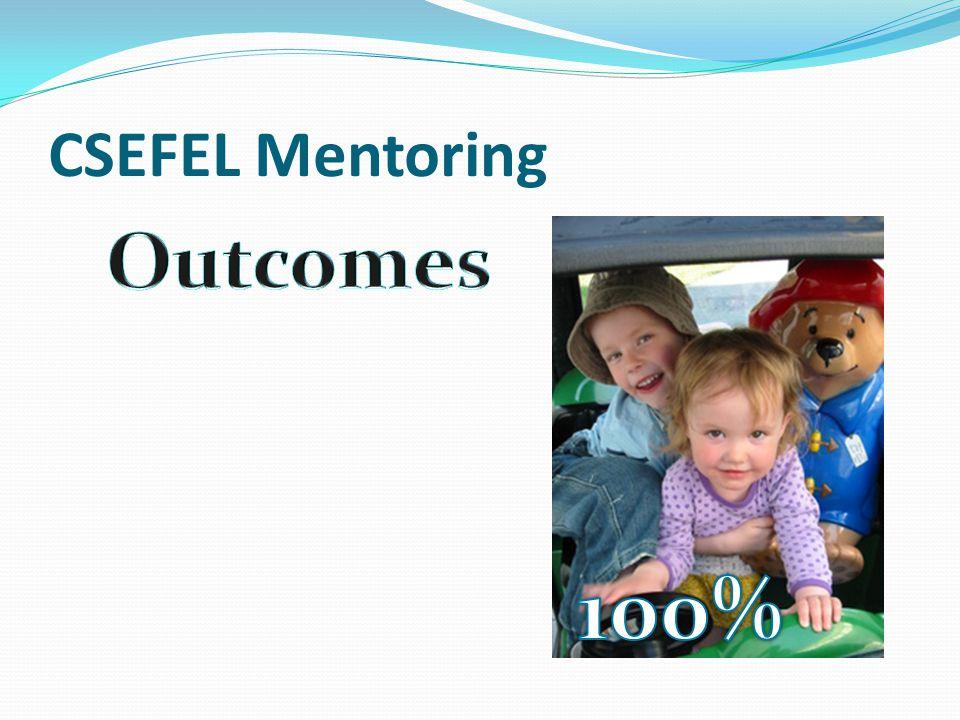 CSEFEL Mentoring