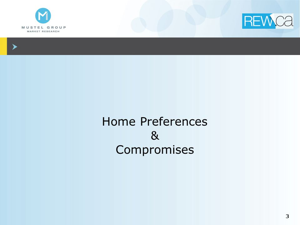 3 Home Preferences & Compromises
