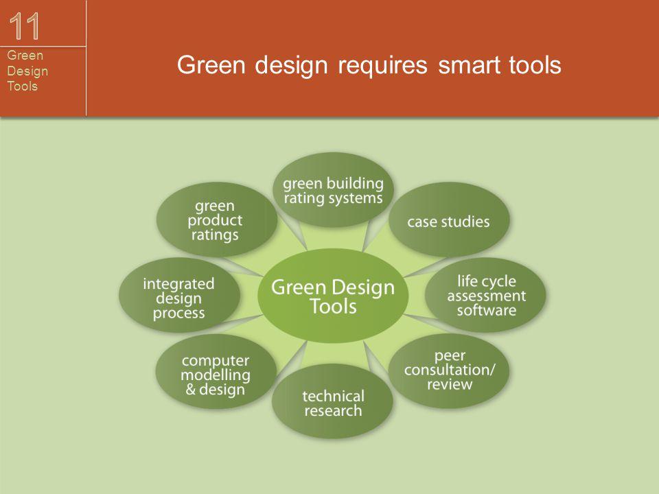 Green design requires smart tools