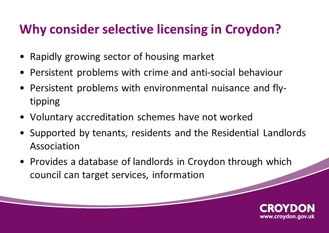 ASB reports to Police by Borough – 2012/13 Croydon has 5 th highest rate in London (13533 reports)