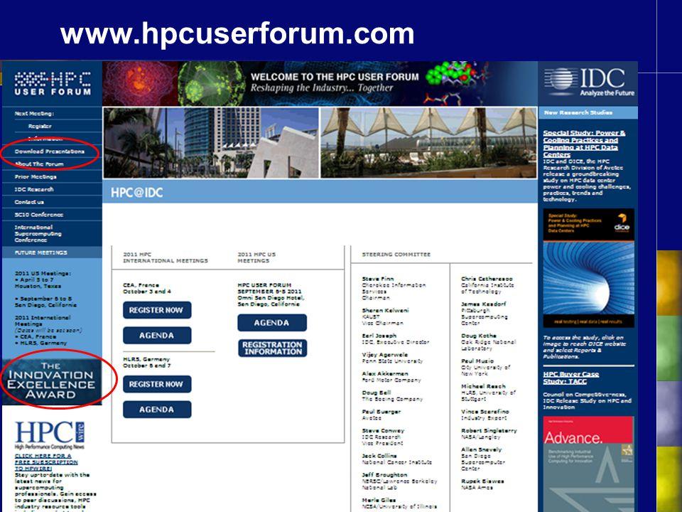 www.hpcuserforum.com