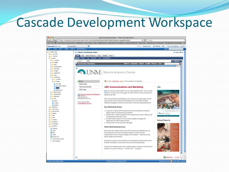 Cascade Development Workspace