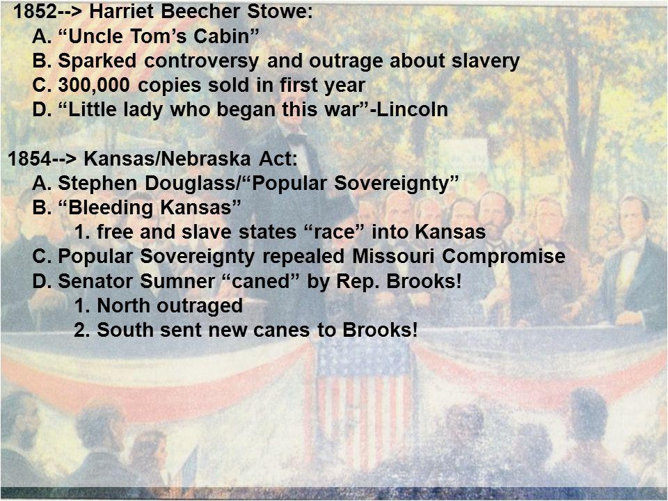 1857--> Dred Scott Decision: A.
