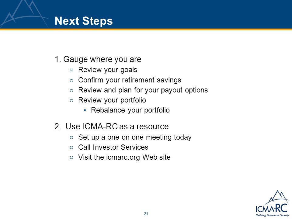 21 Next Steps 1.