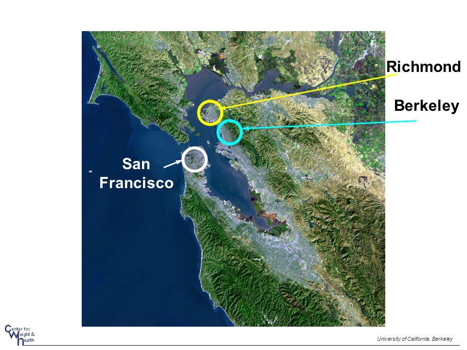Berkeley University of California, Berkeley San Francisco Richmond